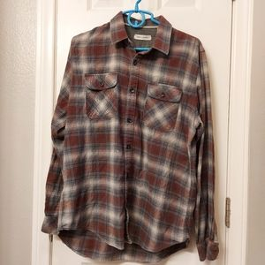 James Campbell flannel shirt